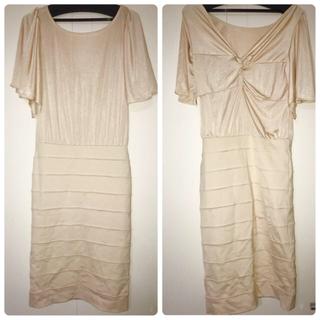 デュラス(DURAS)のdurasバックコンシャスドレス(ミディアムドレス)