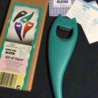 アレッシィ(ALESSI)の新品未使用 ALESSI イタリア製デザインボトルオープナー(アルコールグッズ)