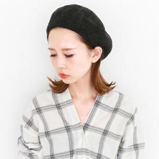 ケービーエフ(KBF)の【新品】KBF サーモベレー ブラック(ハンチング/ベレー帽)