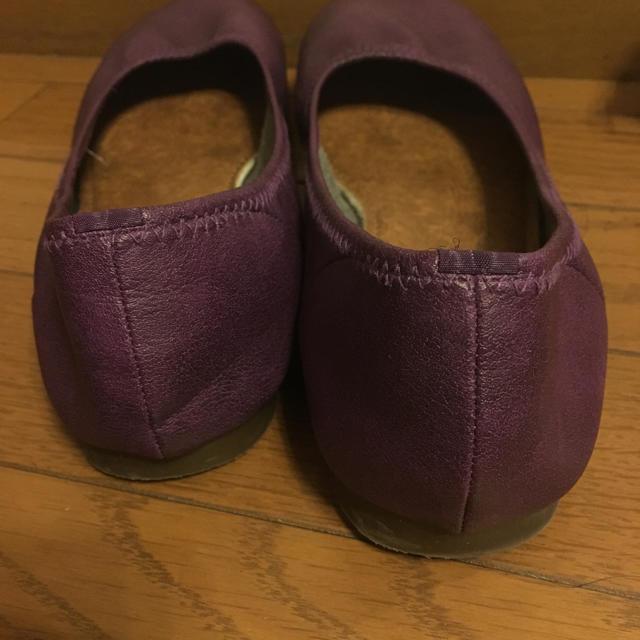 美品セール♡日本製♡ペタンコパンプス♡ レディースの靴/シューズ(ハイヒール/パンプス)の商品写真