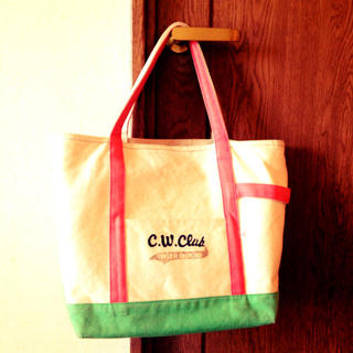 ドットアンドストライプスチャイルドウーマン(Dot&Stripes CHILDWOMAN)の春色 トートバッグ(トートバッグ)