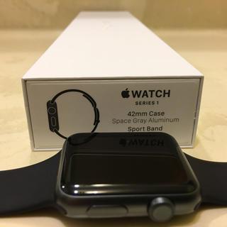 アップル(Apple)のApple Watch series 1(その他)