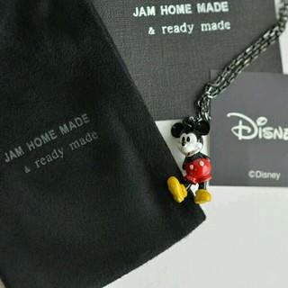ジャムホームメイドアンドレディメイド(JAM HOME MADE & ready made)の新品 未開封 JAM HOME MADE ミッキー シルバーネックレス(ネックレス)