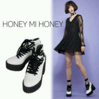 ハニーミーハニー(Honey mi Honey)のハニーミーハニー エンジニアブーツ 新品(ブーツ)