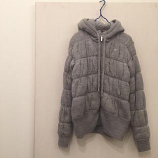 アディダス(adidas)のadidas originals   ニット中綿ジャケット  Mサイズ(ダウンジャケット)