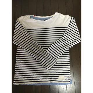 ウィゴー(WEGO)のウィーゴ ボーダー 長袖Tシャツ(シャツ)