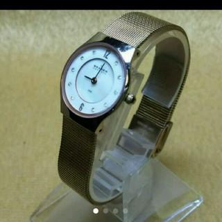 スカーゲン(SKAGEN)のスカーゲン 美品 ストーン (腕時計)