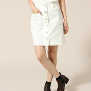 ローリーズファーム(LOWRYS FARM)のローリーズファーム フロントボタンスカート(ミニスカート)
