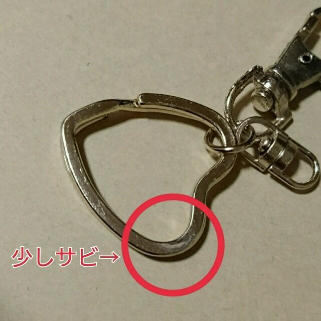 ラビットファーライトグリーン❤チャーム ハンドメイドのファッション小物(バッグチャーム)の商品写真