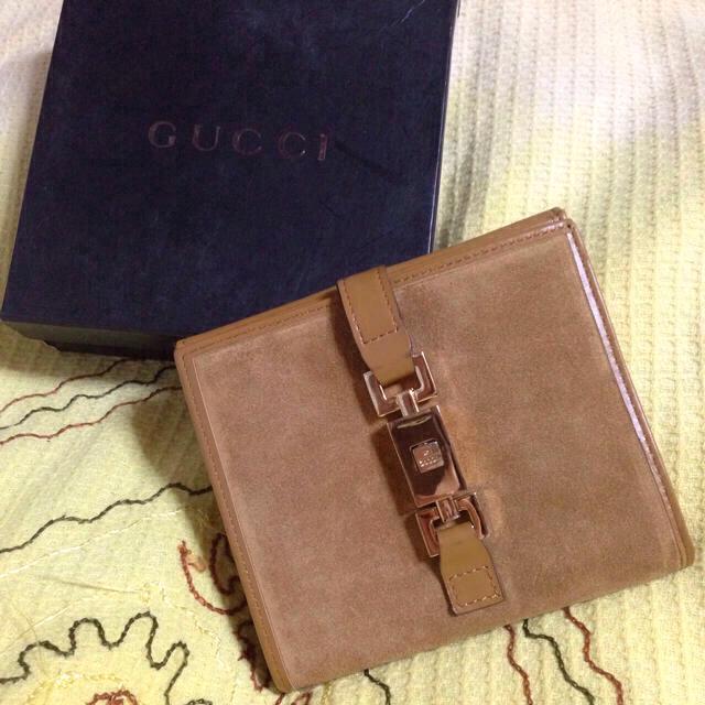 bd92b752352c Gucci(グッチ)の最終お値下げグッチスエードジャッキー財布 レディースのファッション小物