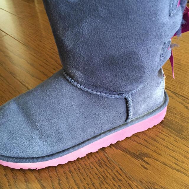 UGG(アグ)のUGG キッズ ベイリーボウ 20cm  ブーツ キッズ/ベビー/マタニティのキッズ靴/シューズ(15cm~)(ブーツ)の商品写真