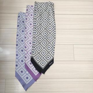 レア★ドコモショップ制服★夏スカーフ(バンダナ/スカーフ)