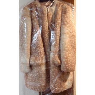 ミュウミュウ(miumiu)のmiumiu ファーコート 新品未使用 12月末まで販売(毛皮/ファーコート)
