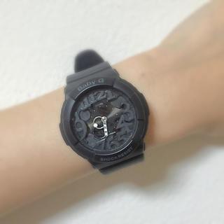 ベビージー(Baby-G)のBaby-G 黒 時計(腕時計)