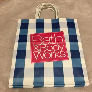 バスアンドボディーワークス(Bath & Body Works)の4枚セット Bath and body works ショップ袋 ショッパー 紙袋(ショップ袋)
