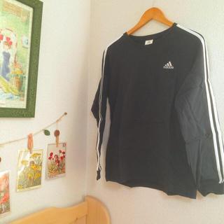 アディダス(adidas)の【最終値下げ】adidas ロンT (Tシャツ(長袖/七分))