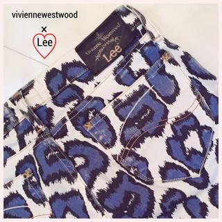 ヴィヴィアンウエストウッド(Vivienne Westwood)の※本日限定値下げ!Lee×viviennewestwood  豹柄ショーパン(ショートパンツ)