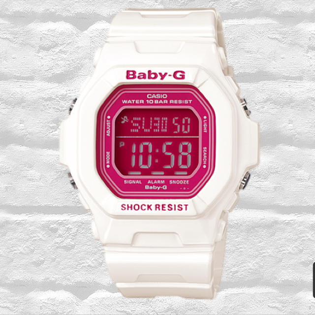 reputable site 31302 8aafc Baby G 腕時計白×ピンク ☆新品未使用☆ | フリマアプリ ラクマ