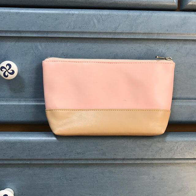 リボン❤︎化粧ポーチ レディースのファッション小物(ポーチ)の商品写真