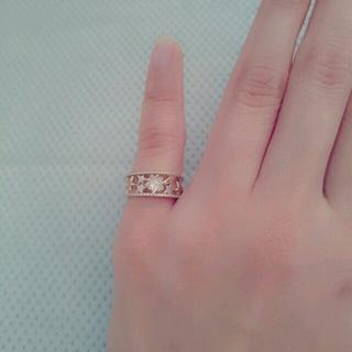 スタージュエリー(STAR JEWELRY)の 週末割引 STER JEWELRY ピンキー リング 美品(リング(指輪))