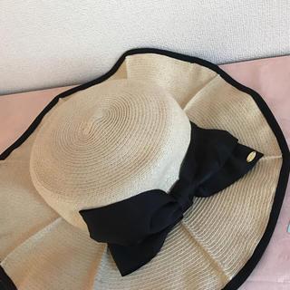 トッカ(TOCCA)のTOCCA帽子❤️新品(麦わら帽子/ストローハット)