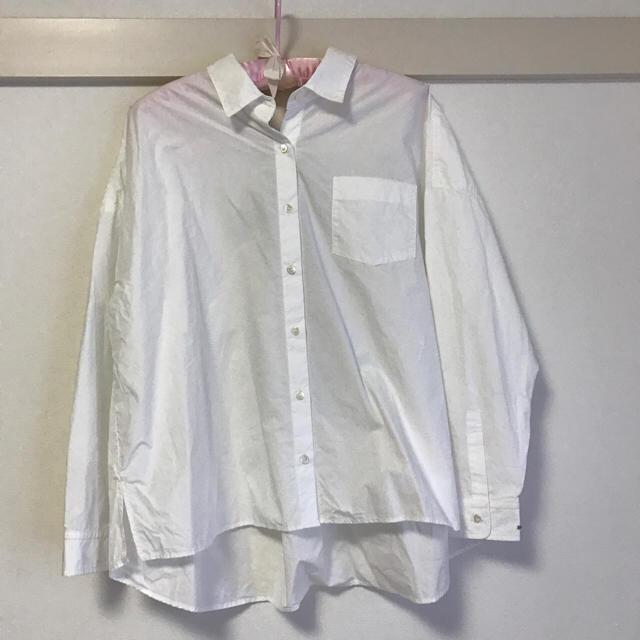 URBAN RESEARCH(アーバンリサーチ)のURBAN RESEARCH♡BACKリボンオーバーゆるっとシャツ レディースのトップス(シャツ/ブラウス(長袖/七分))の商品写真