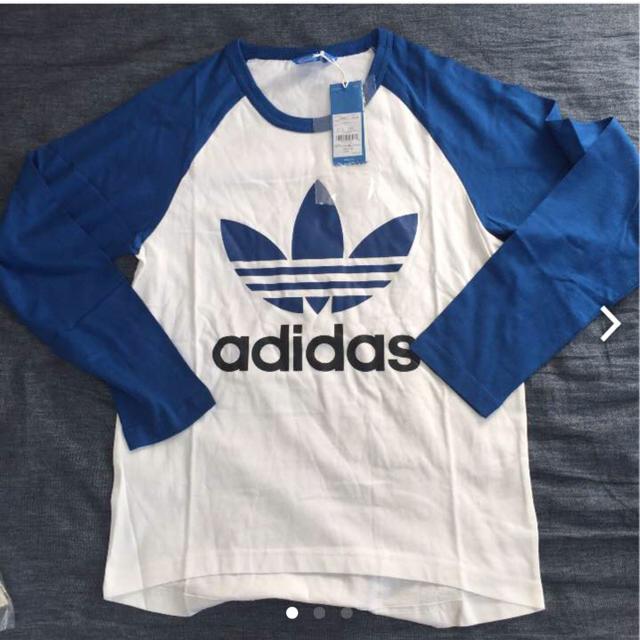 adidas(アディダス)のアディダス オリジナルス 長袖 Tシャツ Mサイズ メンズのトップス(Tシャツ/カットソー(七分/長袖))の商品写真