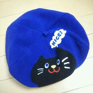 ラフ(rough)のねこちゃん☆ベレー帽(ハンチング/ベレー帽)