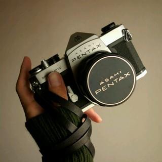 ♥ イタリアンレザーストラップ *フィルムカメラ&フルサイズ単焦点レンズに(その他)