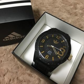 アディダス(adidas)の新品未使用 adidas 腕時計ADH3011 NEWBURGHブラック(腕時計(アナログ))