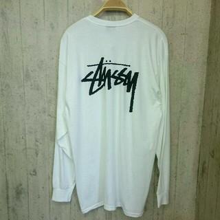 ステューシー(STUSSY)の【新品】STUSSY 大人気ベーシックロゴT ロンT(Tシャツ/カットソー(七分/長袖))