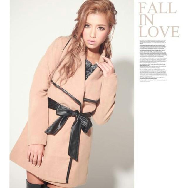 新品Aラインジャケット レディースのジャケット/アウター(ロングコート)の商品写真