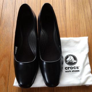 クロックス(crocs)のクロックス オーキッド W7.5 24.5 crocs orchid パンプス(ハイヒール/パンプス)