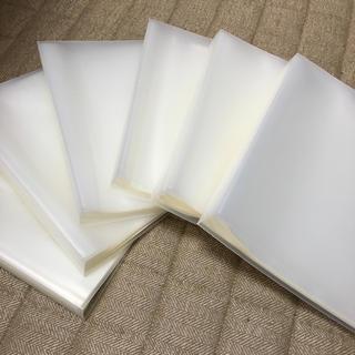 ムジルシリョウヒン(MUJI (無印良品))のエミリア様専用 無印良品 クリアホルダー A4 60ポケット 3冊セット(ファイル/バインダー)
