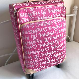 サマンサタバサ(Samantha Thavasa)の【1週間限定価格】サマンサタバサ キャリーバッグMサイズ(スーツケース/キャリーバッグ)