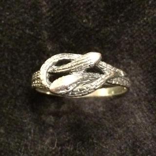 シルバー925リング 蛇(リング(指輪))