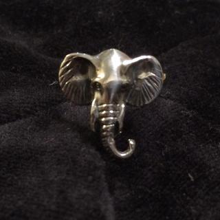 シルバー925リング 象(リング(指輪))