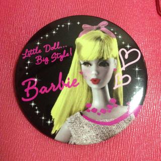 バービー(Barbie)のbarbie 缶バッジ(ブローチ/コサージュ)