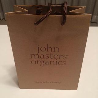 ジョンマスターオーガニック(John Masters Organics)のjohnmasters organicsのショッパー(ショップ袋)