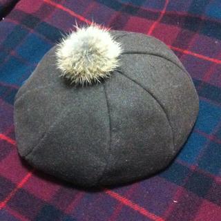 アースミュージックアンドエコロジー(earth music & ecology)のEarth*ベレー帽(ハンチング/ベレー帽)