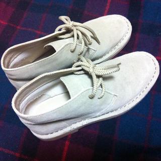 ムジルシリョウヒン(MUJI (無印良品))の無印良品*レザーデザートブーツ(ローファー/革靴)