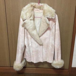 シマムラ(しまむら)のスエード生地 コート(毛皮/ファーコート)