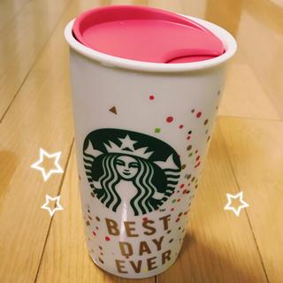 スターバックスコーヒー(Starbucks Coffee)のスタバ 台湾限定 タンブラー 蓋付きマグカップ 陶器(タンブラー)