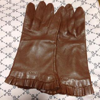 クロエ(Chloe)のクロエ 本革手袋(手袋)