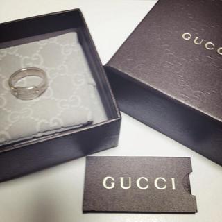 グッチ(Gucci)のGUCCI♡ロゴ♡リング(リング(指輪))