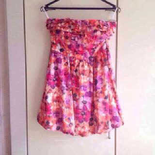 ビーシービージーマックスアズリア(BCBGMAXAZRIA)の購入希望価格お知らせ下さい 新品 日本未入荷 Bebe 主役になる華やかなドレス(ミニワンピース)