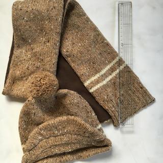 ムジルシリョウヒン(MUJI (無印良品))の無印良品 子供用 帽子&マフラー(帽子)