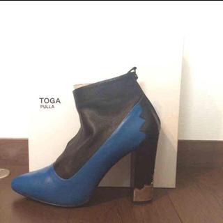 トーガ(TOGA)の【お値下げ中】TOGA PULLAショートブーツ(ブーツ)
