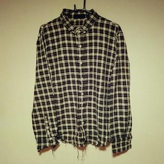 インフルエンス(Influence)のインフルエンスのチェックシャツ♪(Tシャツ/カットソー(七分/長袖))