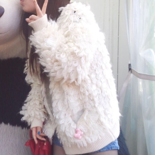 マウジー(moussy)のmoussy モコモコアウタ sayu様(毛皮/ファーコート)